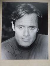 """Duncan Regehr Autographed 8"""" X 10"""" Photograph"""