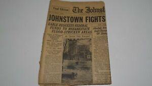 1936 The Johnstown Tribune Newspaper