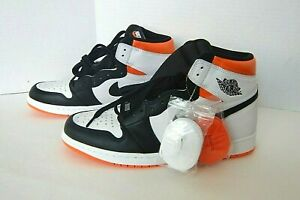 Air Jordan 1 High Retro OG Electro Orange # 555088 180 Men's Sneakers US Size 12