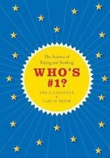Who's #1?: The Science Of Rating And Ranking: By Amy N. Langville, Carl D. Meyer