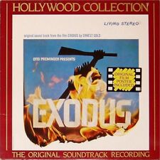 OST 'EXODUS' UK SOUNDTRACK LP WITH FILM POSTER - MUSIC BY ERNEST GOLD