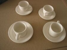 Cups & Saucers White Portmeirion Pottery Tableware