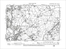 Bristol Frenchay, Downend, Old Map Gloucestershire 1904: 72NE