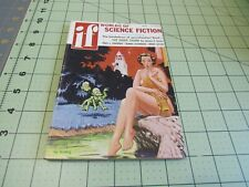 IF WORLDS OF SCIENCE FICTION  4/1957  PULP SF DIGEST MEL HUNTER GGA COVER
