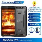 """Blackview Rugged Smartphones Bv5500pro 4400mah 5.5"""" 16gb Android Noise Reduction"""