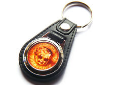 ALICE COOPER BILLION DOLLAR BABIES Rock Band Quality Leather and Chrome Keyring