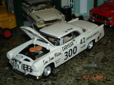 1956 CHRYSLER 300 Stock Car 1:43 LEE PETTY #42