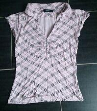 Shirt Bluse Top in altrosa rosa von Melrose mit Cut-Outs in Größe 40