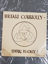 """NEW! Brian Connolly """"Living Is Easy"""" Vinyl Record SEALED New Other!"""