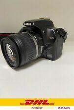 Canon EOS Rebel XS Black EF-S 18-55mm IS Lens Kit - Black DSLR Camera 👍👍👍👍👍