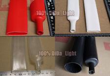 19.1mm / Adhesive Lined 3:1 Heat Shrink Tube Tubing Waterproof (Black/Clear/Red)