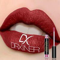 DRXINER Sexy Long Lasting Waterproof Matte Lip Gloss Lip Tint Liquid Lipstick r