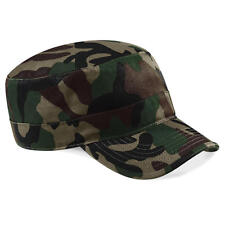 Beechfield Camouflage Snapback Cap Mütze Army Tarnfarben Cappy Unisex ***NEU***
