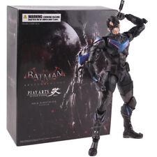 Play Arts Kai Batman Arkham Knight Nightwing PVC Action Figure Model Toy