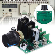 12V-40V 10Amp PWM DC Motor Speed Controller Dimmer Voltage Regulator with Knob#