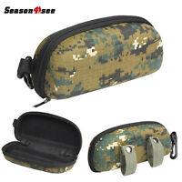 Tactical Zipper Sunglasses Box Case Shell Hard Eye Glasses Protector Box Pouch