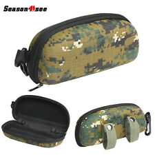 Outdoor Airsoft Eye Protective Goggle Box Sunglasses Carrier Holder Case Camo