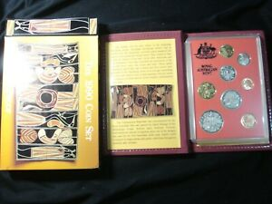 Australian 1990 Proof Coins Proof Set IN RAM Box 1 2 5 10 20 50 Cents $1 $2