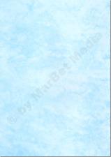 Marmorpapier A4 250g / m² 25 Blatt cyan