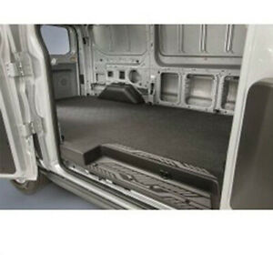 2015-2018 Ford Transit Medium Series Rubber Cargo Floor Area Liner Mat Black OEM