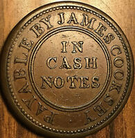 GREAT BRITAIN WEST BROMWICH AND COSELEY JAMES COOKSEY PENNY TOKEN COIN