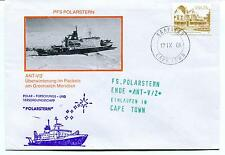 1986 Polarstern ANT-V/2 Greenwich Meridian Cape Town Polar Antarctic Cover