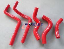 For Honda CR125 CR 125 CR125R 2000 2001 2002 silicone radiator hose red