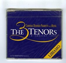 THE 3 TENORS MAXI CD SINGLE (NEW) CARRERAS DOMINGO PAVAROTTI  LIBIAMO