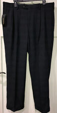 Mondo Di Marco Blue Cuffed Dress Pants Men's 38x29