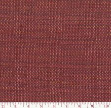 Red Solid Woven Upholstery Fabric Ventura Brick BTY