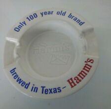Hamms beer ashtray. Hamms Houston Tx. Brewery