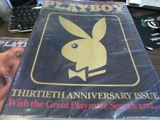 PLAYBOY - ENTERTAINMENT FOR MEN  - JAN 1984  - 30TH ANNIVERSARY  - VG - COMPLETE