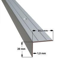 1 m Treppenstufenprofil Abdeckprofil Winkelleiste Treppenleiste