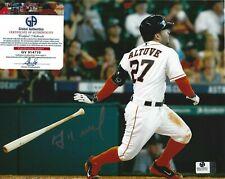 Jose Altuve Signed 8x10 Photo - Houston Astros - COA - MLB Autographed