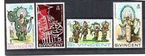 St Vincent (4761) 1969 St Vincent Carnival set unmounted mint Sg270-3