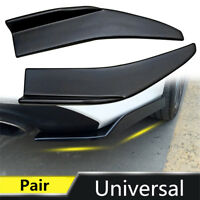 Car rear Bumper Lip Splitter Body Side Spoiler ABS Lip Angle Splitter Diffuser