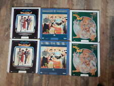 Vintage CED Videodisc LOT-Guys & Dolls, The King & I, Fiddler on Roof-6 Discs!