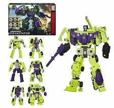"Damage Box Hasbro Transformers Combiner Wars ""Devastator"" Box SET Action Figure"