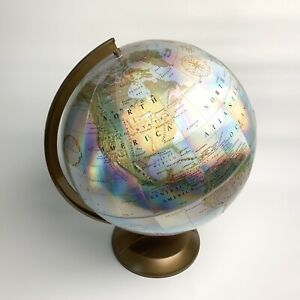 Vintage Replogle World Prism Series Globe 12 Raised Geography