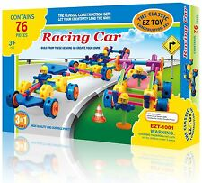 Racing Car EZ-Toy Classic Construction Set Building Toy 3 in 1 Creativity