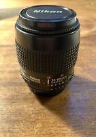 Nikon/ Nikkor AF 35-80MM F/4-5.6D 35-80MM Zoom Lens Perfect Condition Never Used