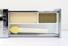 Clinique All About  Eye Shadow Duo -On Safari - Two Shades  - Travel/Sample Size