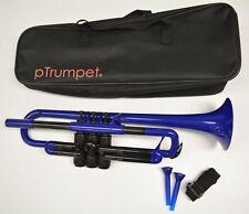 NEW pTrumpet PLASTIC TRUMPET - ITEM #PTRUMPET1B, COLOR: BLUE