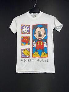 VINTAGE Mickey Mouse T Shirt Disney Single Stitch Youth Size 6