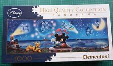 Disney Mickey & Minnie Panorama 1000 piece Jigsaw Puzzle by Clementoni