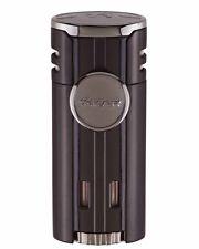 XiKAR 574BK HP4 Quad Flame Cigar Lighter Gift Box Warranty Matte Black