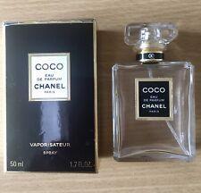 CHANEL COCO EAU DE PARFUM 50ML BOTTLE  & BOX *EMPTY* COLLECTABLE