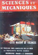 Zeitschrift Sciences und Mechaniken Kein 264 von 1968 Bienen der Meer Klein