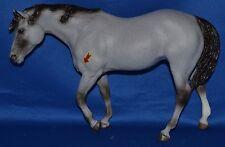 Breyer~1993~Ichilay~Gray Indian Pony w/ Native Symbol!~RARE