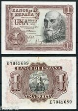 1 Peseta año 1953  Marques de Santa Cruz  SC- /  SPAIN  Pick 144  A/UNC
